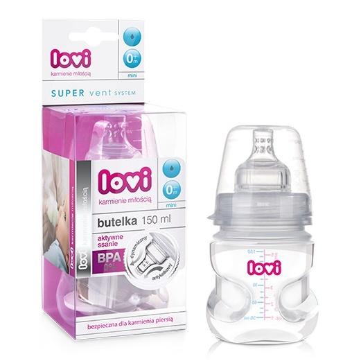21/550 Samosterilizující láhev LOVI 150ml bez BPA
