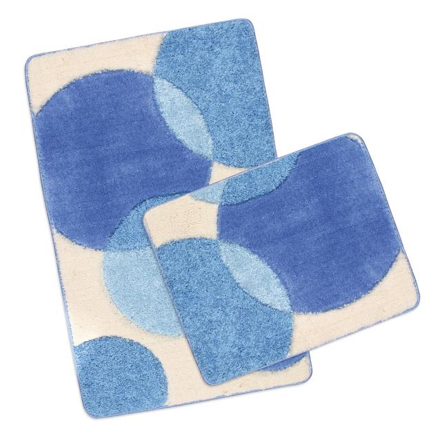 Brotex Koupelnová SADA ULTRA 60x100+60x50 cm Bubliny modré