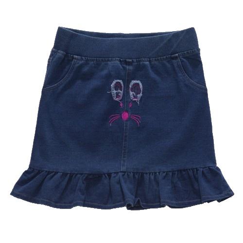 Dětská dívčí riflov sukně Wolf H2754 modrá, vel. 134