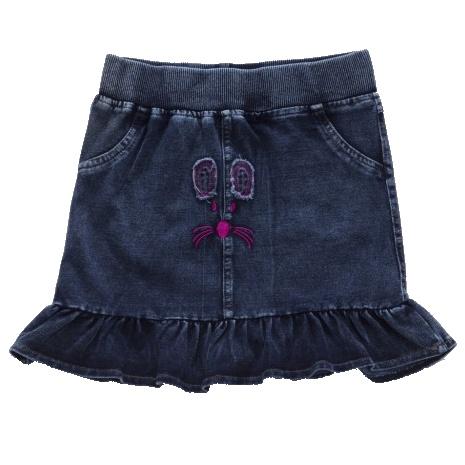 Dětská dívčí riflov sukně Wolf H2754 tmavě modrá, vel. 122