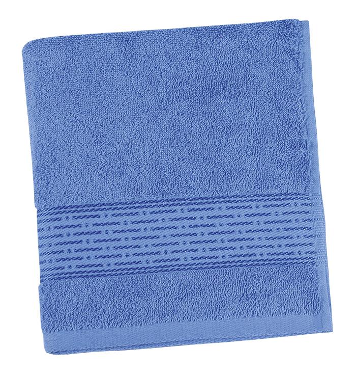 Brotex Froté ručník 50x100cm proužek 450g modrá