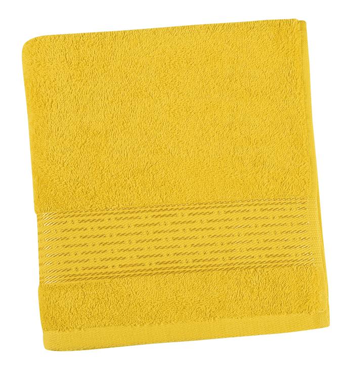 Brotex Froté ručník 50x100cm proužek 450g žlutá