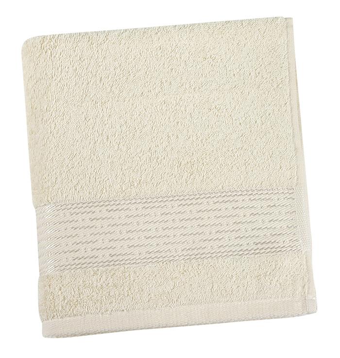 Brotex Froté ručník 50x100cm proužek 450g béžová