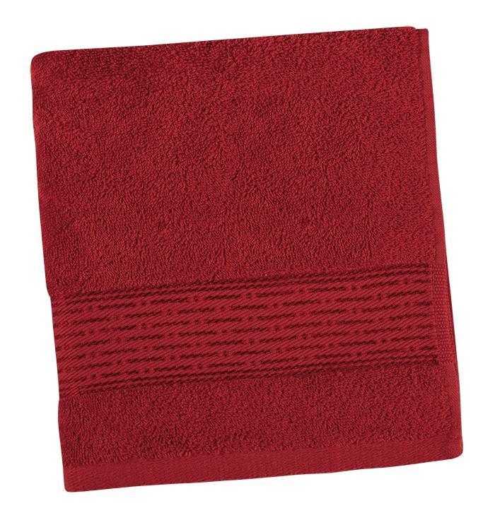 Brotex Froté ručník 50x100cm proužek 450g bordó