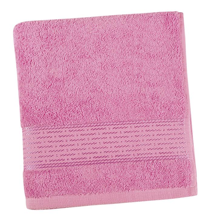 Brotex Froté ručník 50x100cm proužek 450g růžová