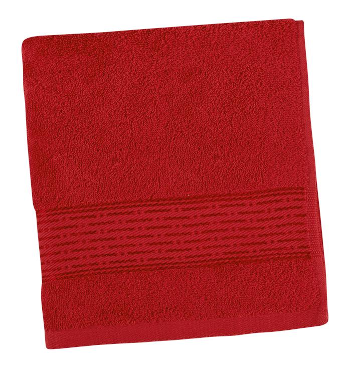 Brotex Froté ručník 50x100cm proužek 450g červená