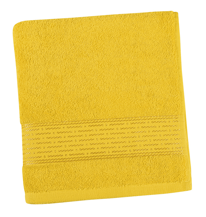 Brotex Froté osuška 70x140cm proužek 450g žlutá
