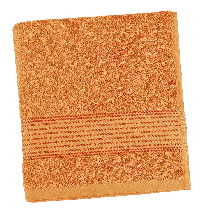 Brotex Froté osuška 70x140cm proužek 450g oranžová