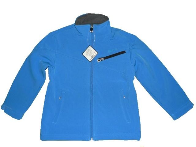 Dětská chlapecká softshelová bunda Wolf B2297 Světle modrá, vel. 128