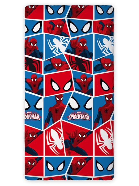 Faro Bavlněné prostěradlo Spiderman 90x200 cm