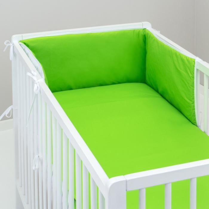 3.dílné povlečení do postýlky Baby-Tex 90x120 cm zelené
