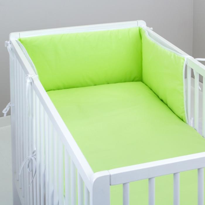 3.dílné povlečení do postýlky Baby-Tex 100x135 cm sv. zelené