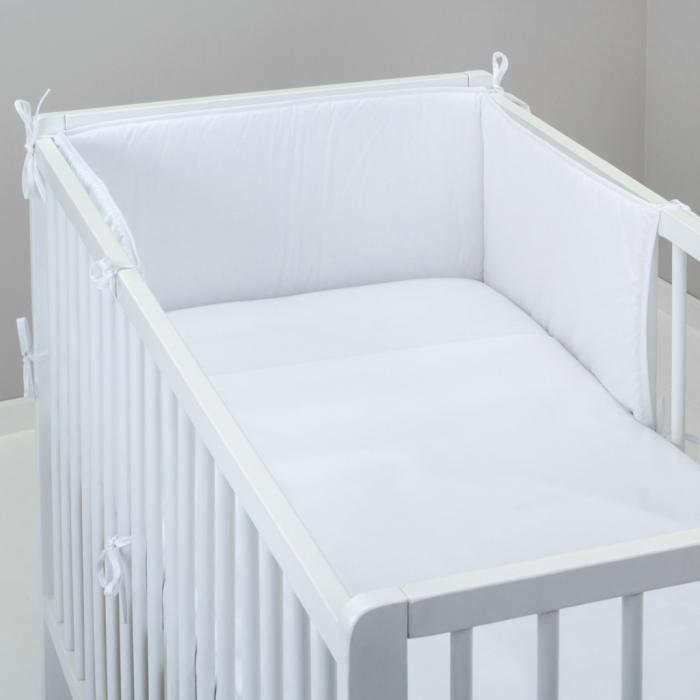 3.dílné povlečení do postýlky Baby-Tex 90x120 cm bílé