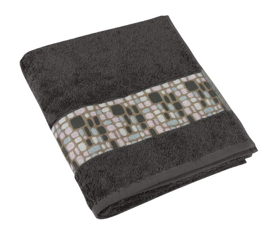 Bellatex Froté ručník kameny 50x100 cm, šedá