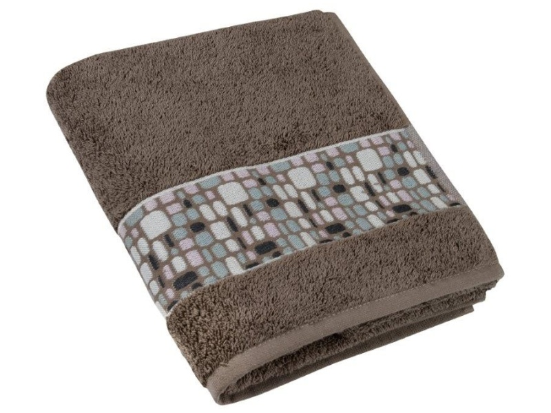 Bellatex Froté ručník kameny 50x100 cm, hnědá