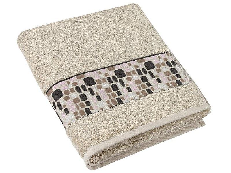 Bellatex Froté ručník kameny 50x100 cm, béžová