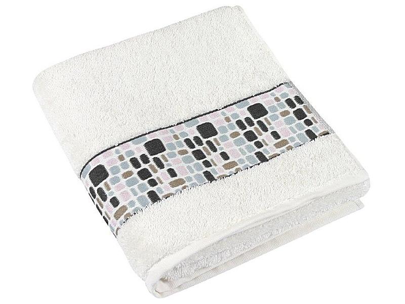 Bellatex Froté ručník kameny 50x100 cm, smetanová