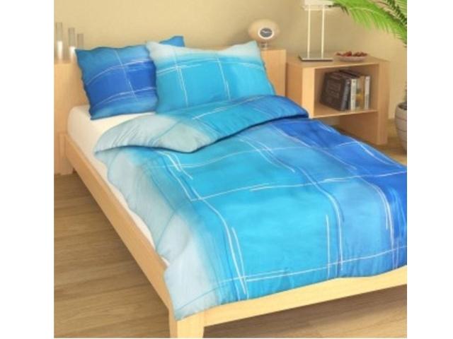 Brotex Přehoz přes postel dvoulůžkový Hlubina modrá 240x200 cm