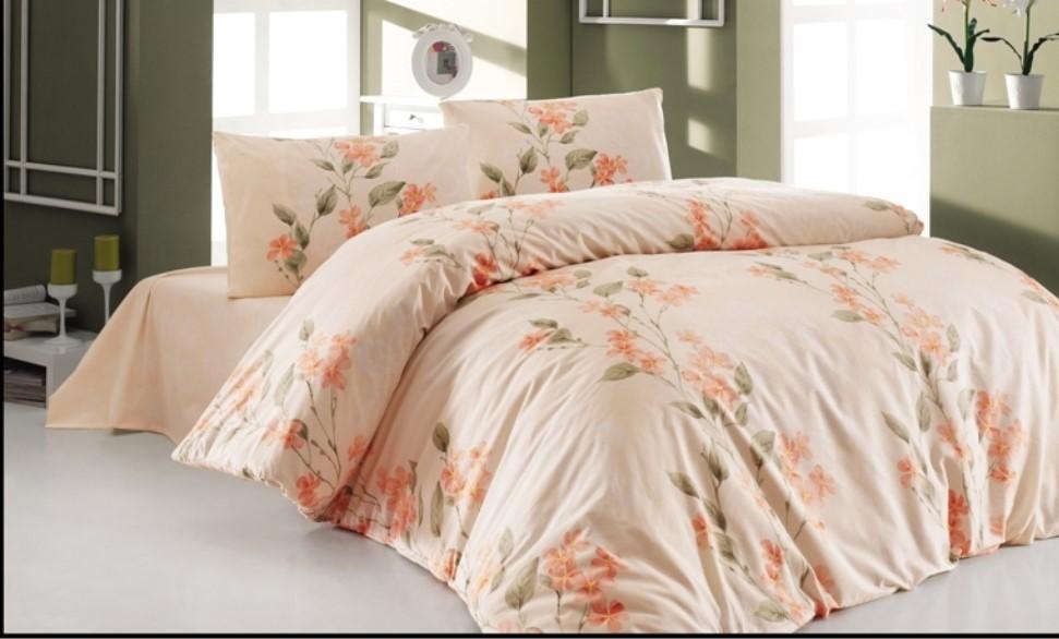 Brotex Přehoz přes postel dvoulůžkový Laura salmon 240x220 cm
