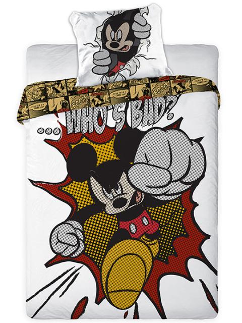 Faro Dětské povlečení Myšák Mickey 03 160x200 + 70x80 cm