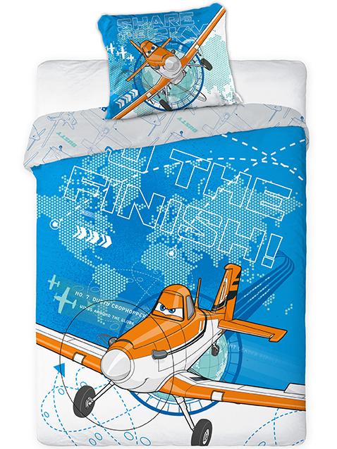 Faro Dětské povlečení Letadla 04 160x200 + 70x80 cm
