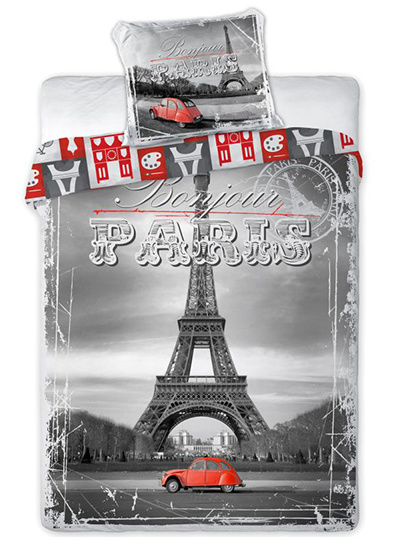 Faro Povlečení Paris bavlna 140x200 + 70x90 cm
