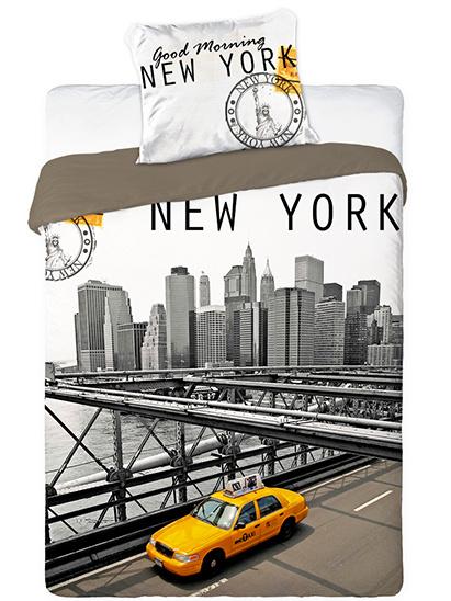 Faro Povlečení New York bavlna 140x200 + 70x90 cm