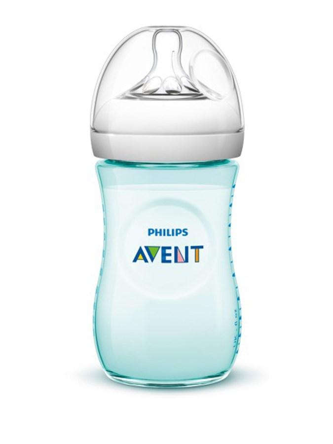Kojenecká láhev Avent Natural 260 ml zelená