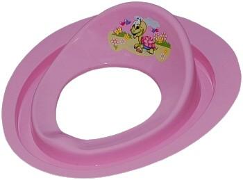 Tega Dětské sedátko na WC želva růžové