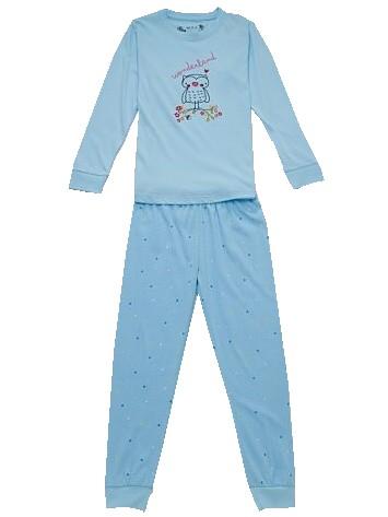 Dětské dívčí pyžamo Wolf S2751 modré, vel. 128
