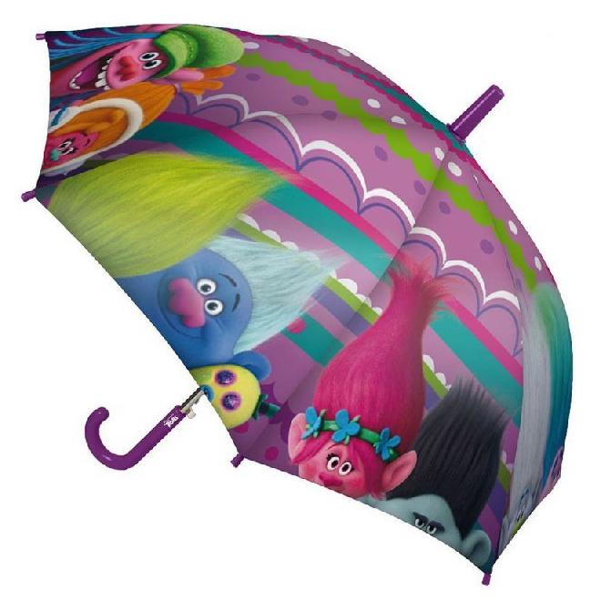 Disney Brand Dětský deštník Trolové lila