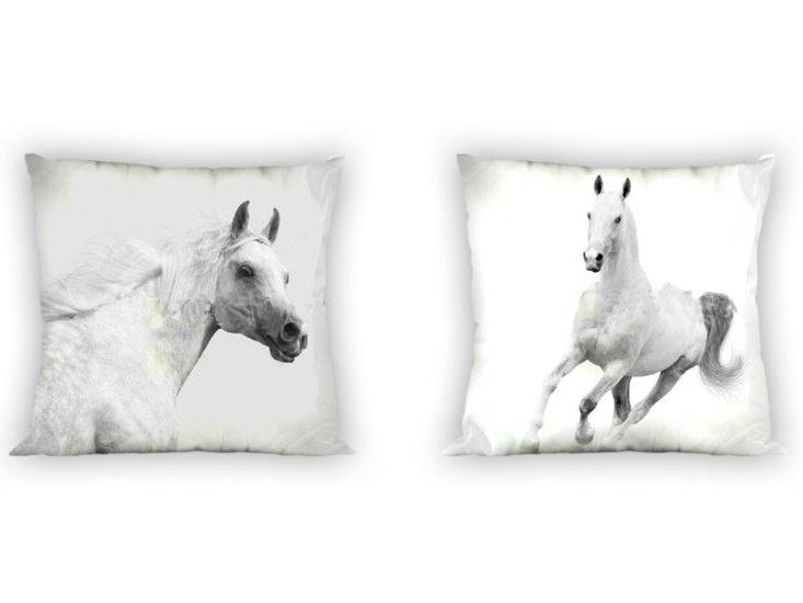 Faro Povlak na polštářek Bílý kůn 007 polyester 40x40 cm