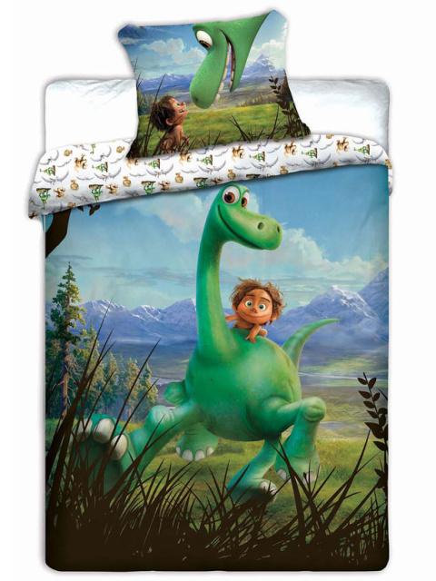 Jerry Fabrics Povlečení Hodný Dinosaurus bavlna 140x200 + 70x90 cm