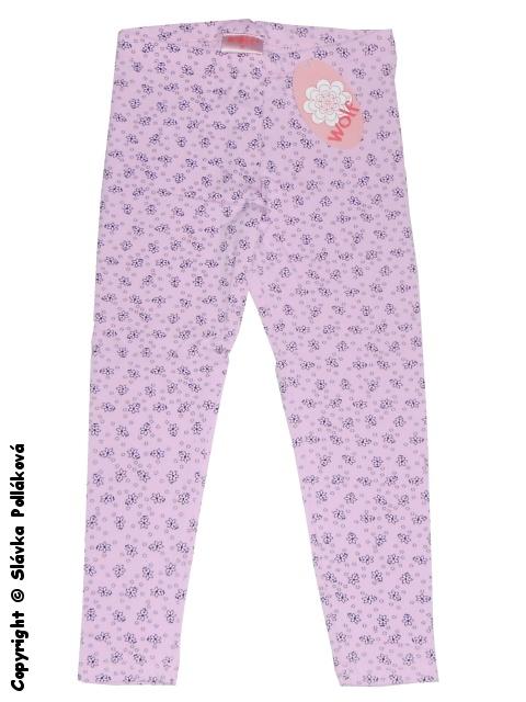 Dětské dívčí legíny Wolf H2461 Růžové, vel. 86