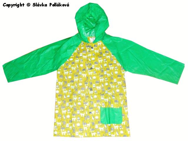 Dětská pláštěnka Kugo P901 Zelená 122/128