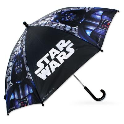 Dětský deštník Setino Star Wars černý