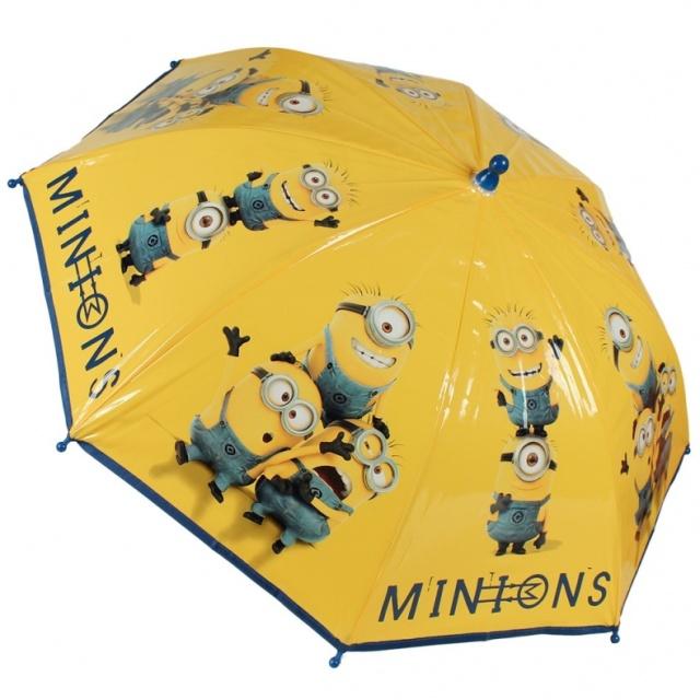 Disney Brand Dětský deštník Mimoni žlutý
