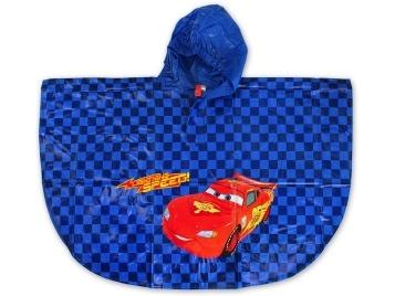 Dětská chlapecká pláštěnka - pončo Setino 750-147 Cars modrá