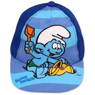 Dětská chlapecká kšiltovka Setino 771-676 Šmoula tmavě modrá