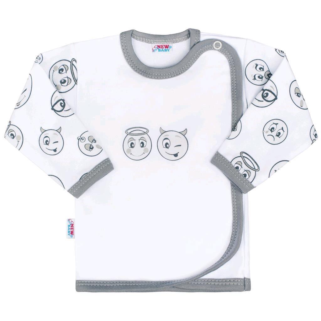 Kojenecká bavlněná košilka New Baby Emotions