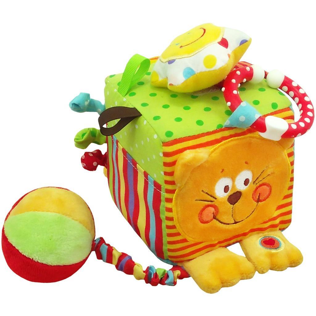 Fotografie Interaktivní hračka Baby Mix kostka kočička