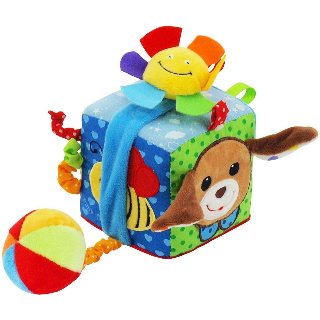 Fotografie Interaktivní hračka Baby Mix kostka pejsek