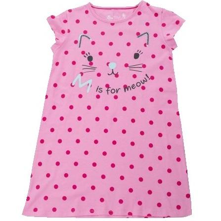Dětská dívčí noční košile Wolf S2881 růžová