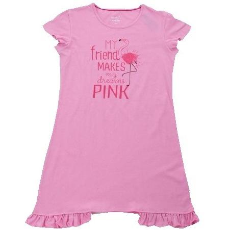 Dětská dívčí noční košile Wolf S2882 růžová