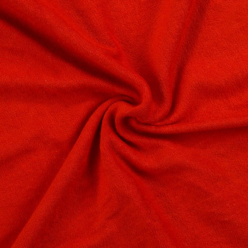 Brotex Písek Froté prostěradlo 90x200 cm, červené