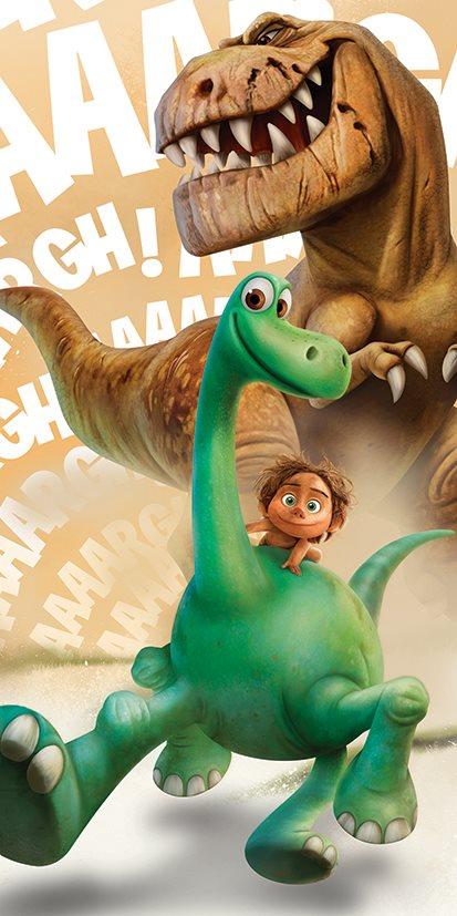 Faro Osuška Hodný Dinosaurus Arlo a Butch bavlna-froté 70x140 cm