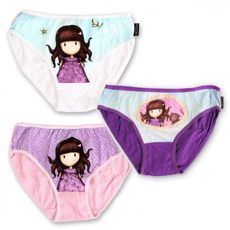 Dívčí kalhotky Setino 731-180 Santoro London Gurjuss 3ks