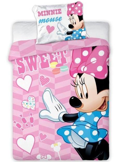 Faro Dětské povlečení Minnie Mouse 05 100x135 cm