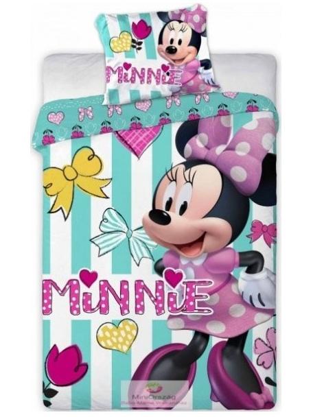 Faro Dětské povlečení Minnie Mouse 084 100x135 cm