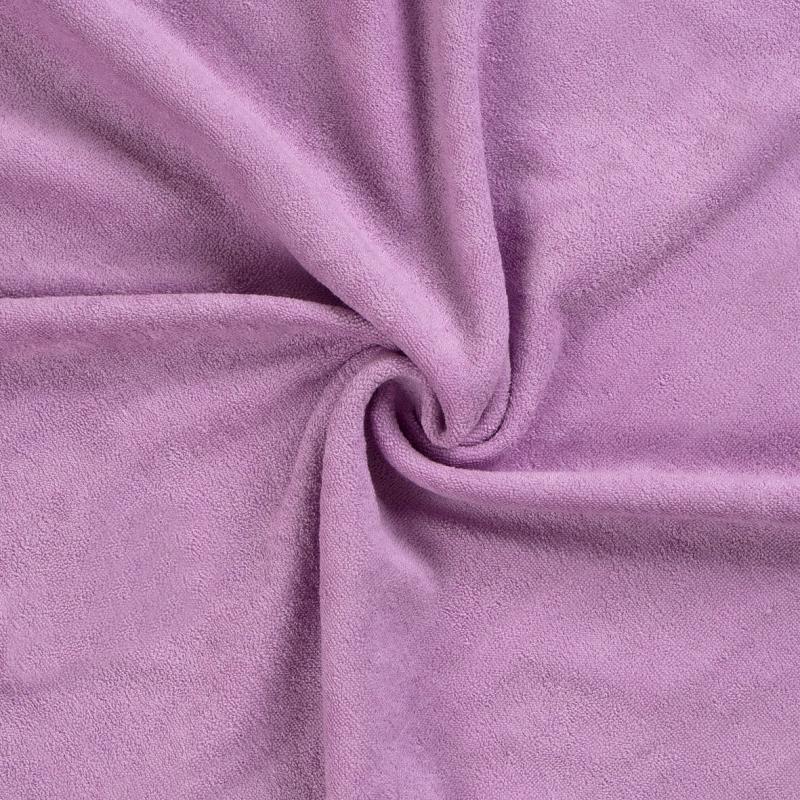 Brotex Písek Froté prostěradlo 200x200 cm, světle fialové
